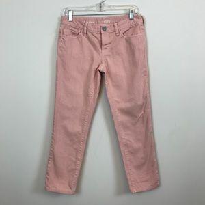 Loft Pink Petite Boyfriend Jeans